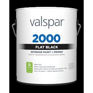 Valspar® 2000™ Flat Black
