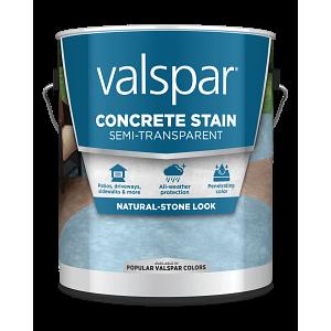 Valspar® Semi-Transparent Concrete Stain