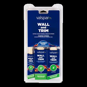 Valspar® Wall and Trim 3-Brush Multi-Pack