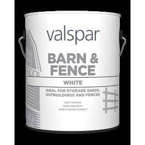 Valspar® Barn and Fence Latex Exterior Paint