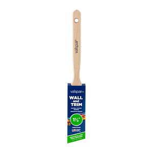 Valspar® Wall and Trim Angle Sash 1.5-in Brush