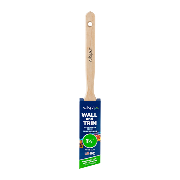 Valspar® Wall and Trim Angle Sash 1.5-in Brush Image