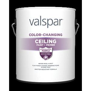 Valspar® Color-Changing Ceiling Paint