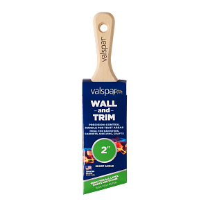 Valspar® Wall and Trim Short Angle 2-in Brush