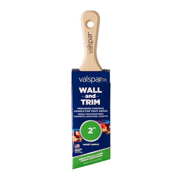 Valspar® Wall and Trim Short Angle 2-in Brush Image