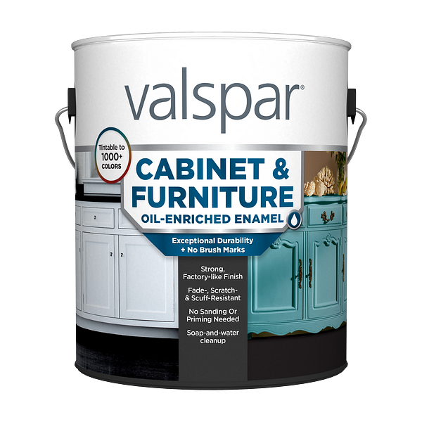 Valspar® Cabinet and Furniture Oil-Enriched Enamel Image