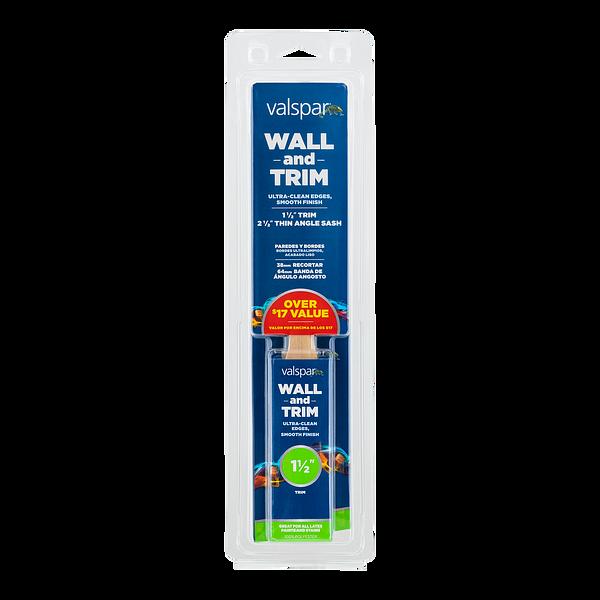Valspar® Wall and Trim 2-Brush Multi-Pack Image
