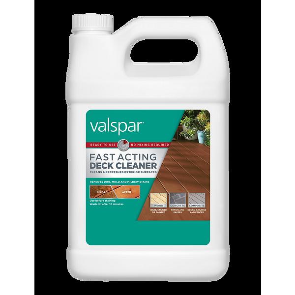 Valspar® Fast-Acting Deck Cleaner Image