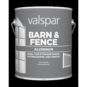 Valspar® Barn and Fence Oil Aluminum Exterior Paint