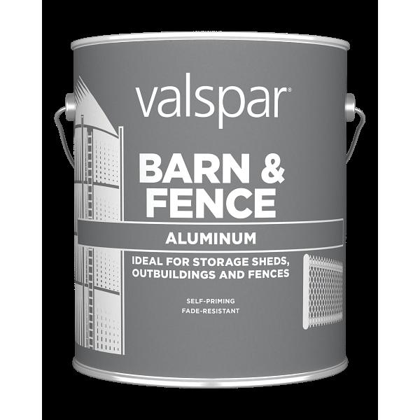 Valspar® Barn and Fence Oil Aluminum Exterior Paint Image