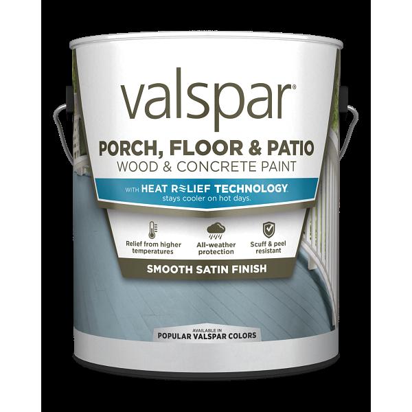 Valspar® Porch, Floor & Patio Acrylic Enamel with HEAT RELIEF TECHNOLOGY™ Image