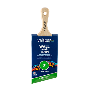 Valspar® Wall and Trim Short Angle 3-in Brush