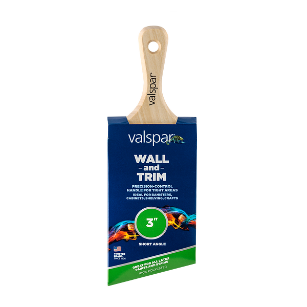 Valspar® Wall and Trim Short Angle 3-in Brush Image