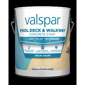 Valspar® Pool Deck & Walkway with HEAT RELIEF TECHNOLOGY™