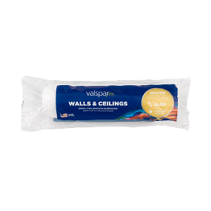 Valspar® 9-in x 3/8-in Walls and Ceilings Woven Roller Cover
