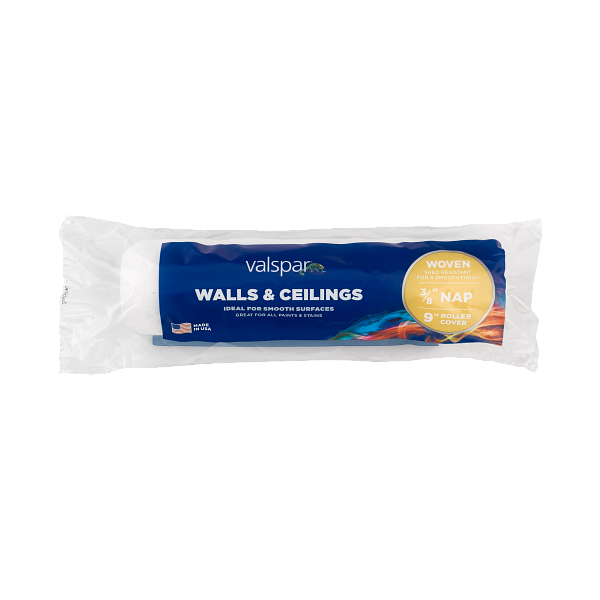 Valspar® 9-in x 3/8-in Walls and Ceilings Woven Roller Cover Image